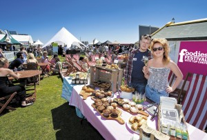 Foodies Festival blue sky