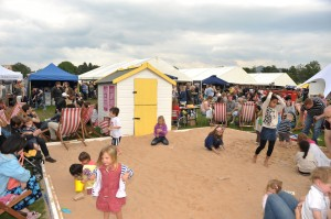 2012 FOODIES FESITVAL AT INVERLEITH PARK EDINBURGH
