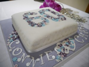You might also like: Diamond anniversary cake