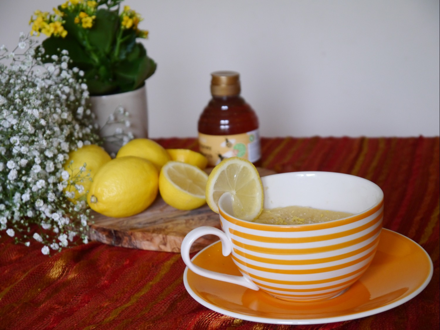 Microwave Cake Recipes Lemon: Honey And Lemon Microwave Cake In A Cup