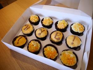 choc orange cakes
