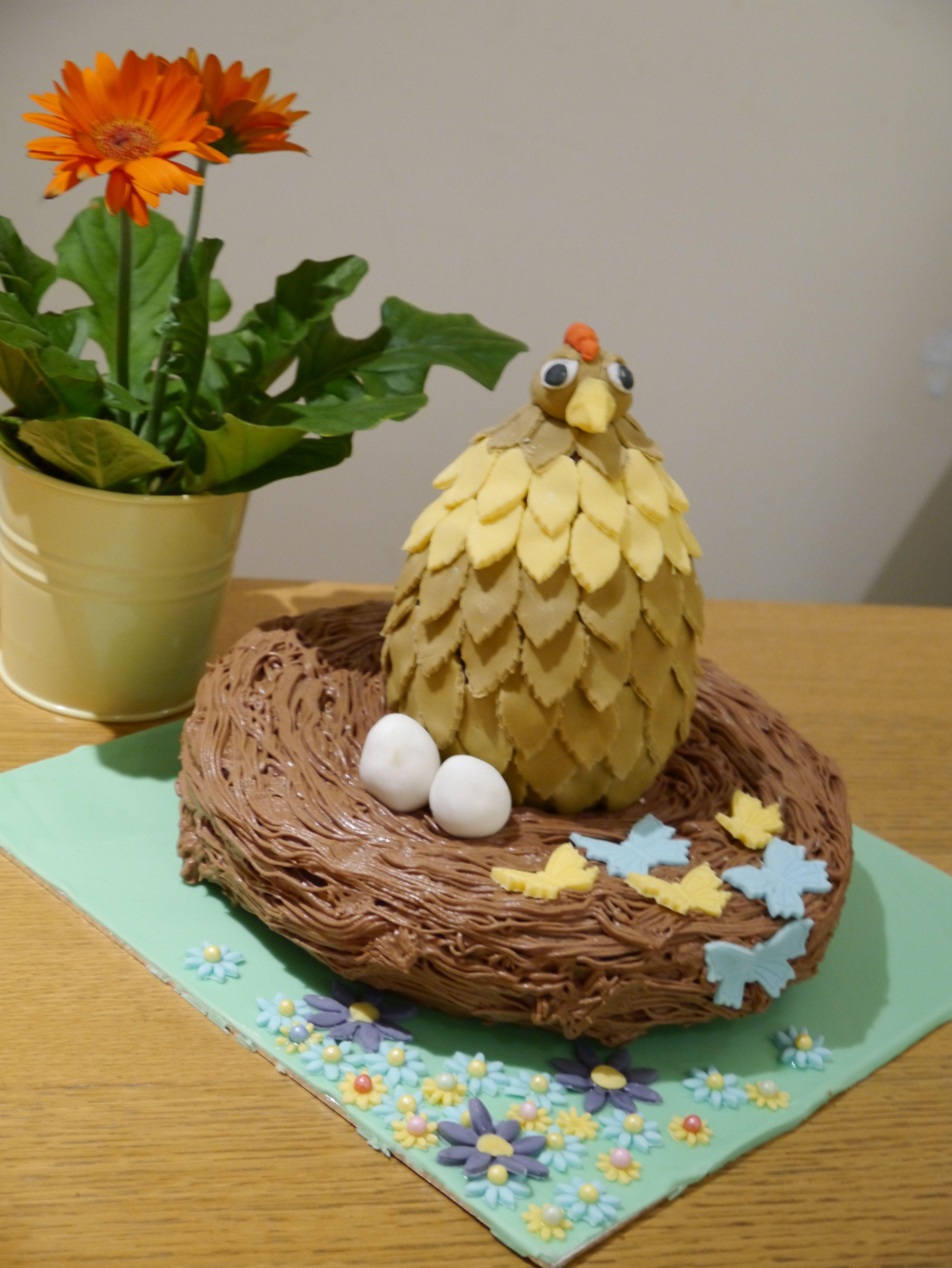 large nest cake 6