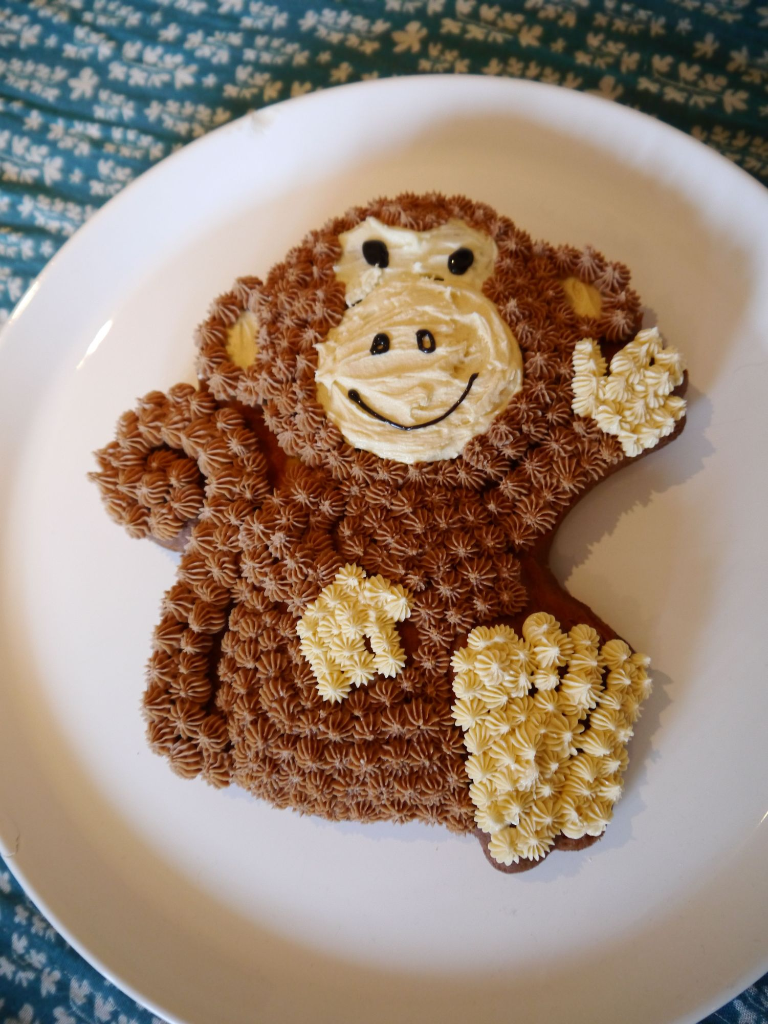 Monkey cake Mummy makes cakes