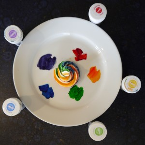 rainbow cakes how to
