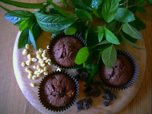 mint choc chip cakes 3