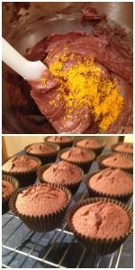 cupcake batter Collage