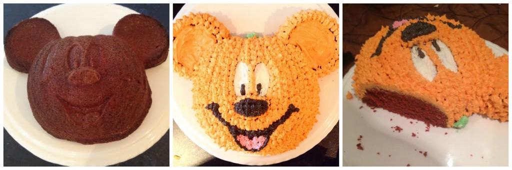 pumpkin cake Collage