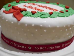 Wreath cake 3