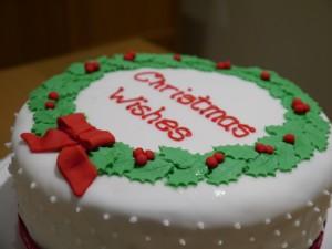 Wreath cake 4