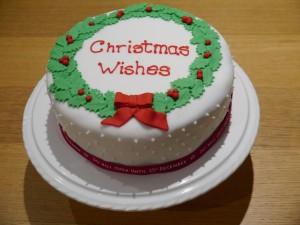 Wreath cake 5