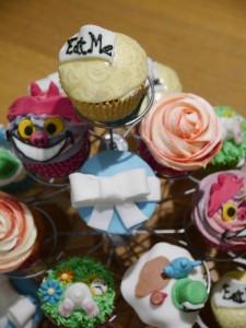 Alice cupcakes 1